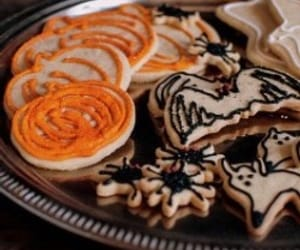 Halloween, autumn, and Cookies image