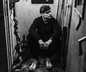 martin garrix, black&white, and dj image