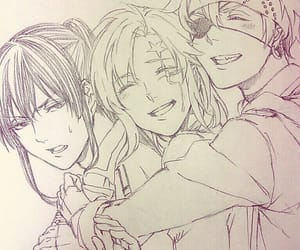 allen, d.gray-man, and exorcist image