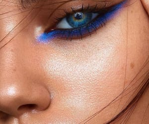 makeup, face, and fashion image