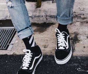 vans, style, and off white image