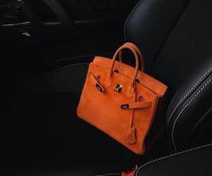 bag, luxury, and orange image