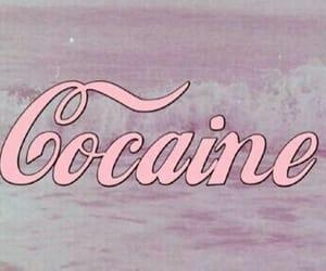 pink, aesthetic, and cocaine image