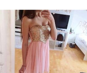 prom dress short and homecoming dress pink image