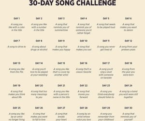 challenge, music, and songs image