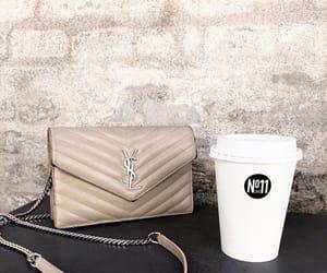 bag, breakfast, and coffee image