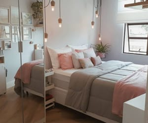 bedroom, pink, and house image