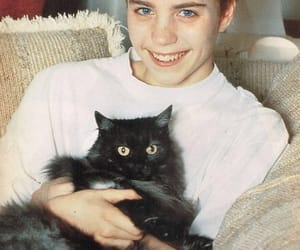 16, 90s, and black cat image