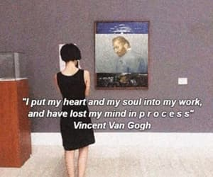 art, lost, and vincent image
