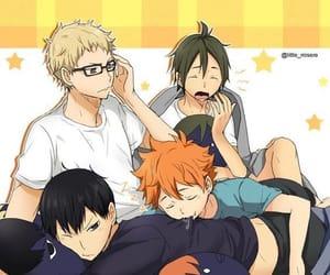 anime, hinata, and cute image