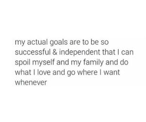 goals, quotes, and family image