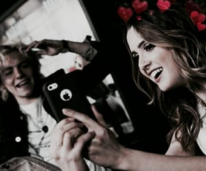 ross lynch, laura marano, and best friends filtered image