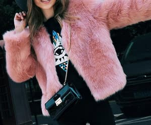 coats, fashion, and fur coats image