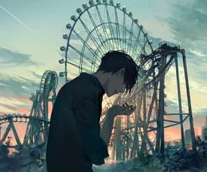 anime, dark, and art image