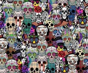 skulls and wallpaper image