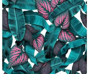 background, floral, and green image