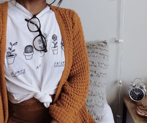 cozy, girl, and glasses image