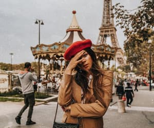 beret, blogger, and fashion image