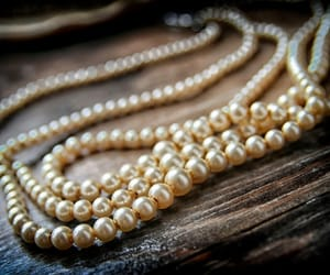 antique, old, and pearls image