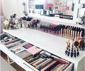makeup, girl, and 😍 image