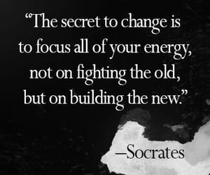 quotes, change, and socrates image