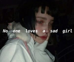 alone, cry, and depressed image