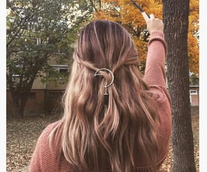 autumn, hair, and harry potter image