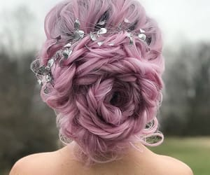 beauty, violet, and accessories image