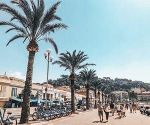 beach, french, and nice image