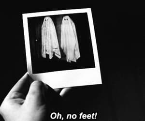 ghost, black and white, and beetlejuice image
