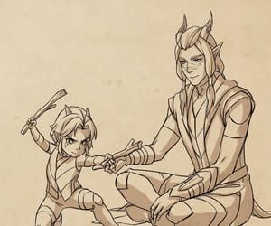 rayla, official art, and the dragon prince image