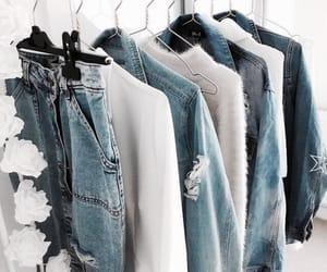 fashion, jeans, and clothes image