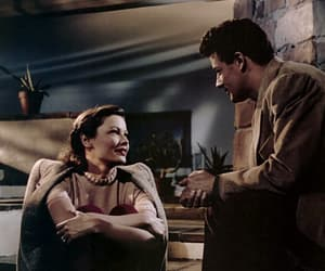 40s, couple, and Gene Tierney image