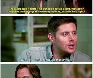 dean, spn, and funny image