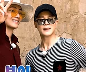 gif, kim taehyung, and bon voyage 3 image
