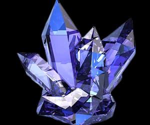 crystal, purple, and stone image