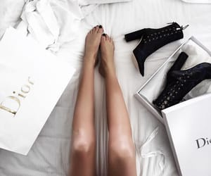 fashion, dior, and shoes image