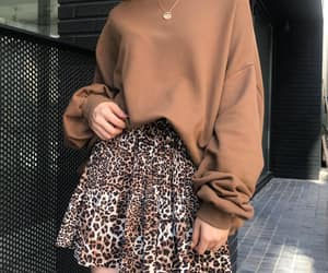 brown, clothes, and girl image