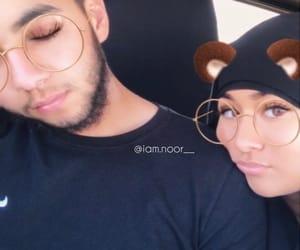 couple, hijab, and mariage image
