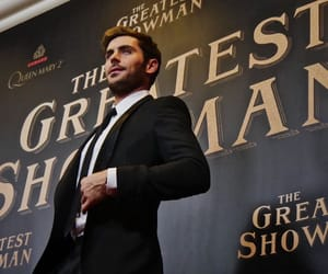 movie, zacefron, and the greatest showman image