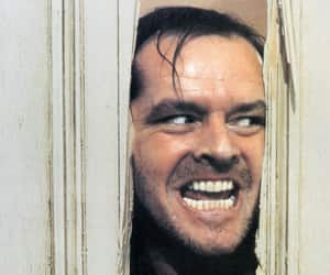 The Shining, jack nicholson, and movie image