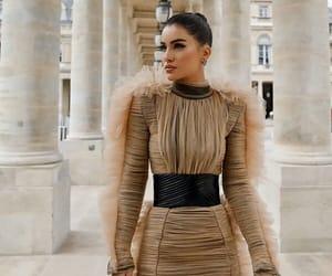 dress, 2018, and fashion week image