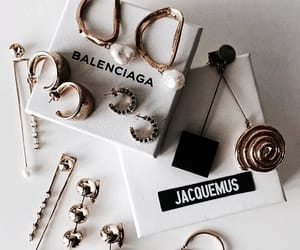 jewelry, accessories, and Balenciaga image