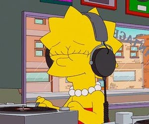 music and the simpsons image