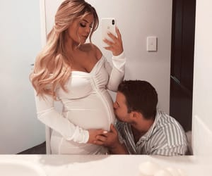 I Love You, pregnancy, and relationship goals image