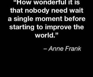anne frank, b&w, and black image
