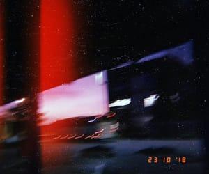 Bas, lights, and night image