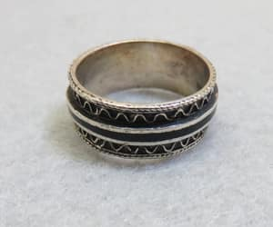 etsy, sterling silver, and size 6 ring image