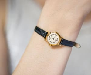 etsy, retro style watch, and tiny woman watch image