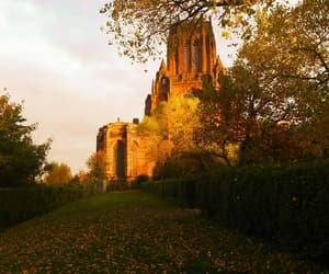 Liverpool, golden hour, and cathedral image